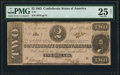 Confederate Notes:1863 Issues, T61 $2 1863 PF-1 Cr. 470 PMG Very Fine 25 Net.. ...