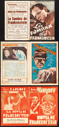 Movie Posters:Horror, Frankenstein & Other Lot (Universal, 1931). Fine+....