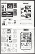 """Movie Posters:James Bond, Goldfinger & Other Lot (United Artists, 1964). Fine/Very Fine. Uncut Pressbooks (4) (Multiple Pages, 11"""" X 17"""" - 13.5"""" X 18""""... (Total: 5 Items)"""