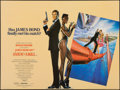 "Movie Posters:James Bond, A View to a Kill (UIP, 1985). Rolled, Very Fine/Near Mint. British Quad (30"" X 40""). Dan Gouzee Artwork. James Bond.. ..."