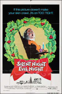 "Black Christmas & Other Lot (Warner Bros., 1974). Folded, Fine/Very Fine. One Sheets (2) (27"" X 41"")..."