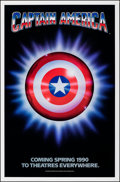 Movie Posters:Action, Captain America (Columbia/Tristar, 1991). Rolled, Very Fin...