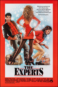 """The Experts & Other Lot (Paramount, 1989). Rolled, Overall: Very Fine-. One Sheets (3) (27"""" X 40"""" & 27..."""