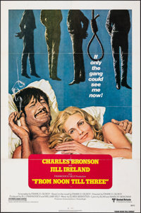 """From Noon Till Three & Other Lot (United Artists, 1976). Folded, Very Fine-. One Sheets (2) (27"""" X 41""""). W..."""