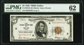Fr. 1850-K $5 1929 Federal Reserve Bank Note. PMG Uncirculated 62