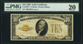 Fr. 2400* $10 1928 Gold Certificate Star. PMG Very Fine 20