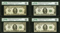 Small Size:Federal Reserve Notes, Fr. 2150-K $100 1928 Federal Reserve Notes. Twenty-One Examples. PMG Choice Very Fine 35-35 EPQ.. ... (Total: 21 notes)