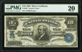 Large Size:Silver Certificates, Fr. 302 $10 1908 Silver Certificate PMG Very Fine 20.. ...