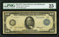Fr. 1042 $50 1914 Federal Reserve Note PMG Very Fine 25