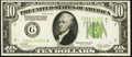 Small Size:Federal Reserve Notes, Fr. 2002-G* $10 1928B Federal Reserve Star Note. Very Fine.. ...