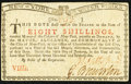Colonial Notes:New York, New York January 6 , 1776 (Water Works) 8s Choice New.. ...