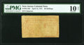 Colonial Notes:New Jersey, New Jersey April 12, 1757 30s PMG Very Good 10 Net.. ...