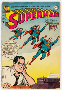 Superman #90 (DC, 1954) Condition: VG