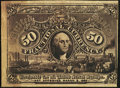 Fractional Currency:Second Issue, 50¢ Second Issue Experimental About New.. ...