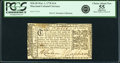 Colonial Notes:Maryland, Maryland March 1, 1770 $1/6 PCGS Apparent Choice About New 55.. ...