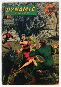 Golden Age (1938-1955):Superhero, Dynamic Comics #16 (Chesler, 1945) Condition: VG-....