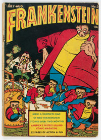 Frankenstein Comics #3 (Prize, 1946) Condition: GD/VG