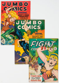 Fiction House Golden Age Jungle Adventure Comics Group of 7 (Fiction House, 1945-49) Condition: Average VG/FN.... (Total...