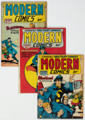 Golden Age (1938-1955):Adventure, Modern Comics Group of 4 (Quality, 1946-49) Condition: Average VG.... (Total: 4 Items)