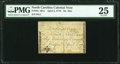 Colonial Notes:North Carolina, North Carolina April 2, 1776 $4 Bee PMG Very Fine 25.. ...