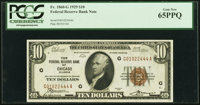 Fr. 1860-G $10 1929 Federal Reserve Bank Note. PCGS Gem New 65PPQ