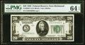 Fr. 2050-E $20 1928 Federal Reserve Note. PMG Choice Uncirculated 64 EPQ