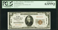 Portland, OR - $20 1929 Ty. 1 The United States National Bank Ch. # 4514 PCGS Choice New 63PPQ