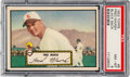 Baseball Cards:Singles (1950-1959), 1952 Topps Fred Marsh (Black Back) #8 PSA NM-MT 8 - Only Three Higher. ...