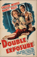 "Double Exposure (Paramount, 1944). Folded, Fine+. One Sheet (27"" X 41""). Comedy"
