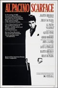 Movie Posters:Crime, Scarface (Universal, 1983). Folded, Very Fine. One...