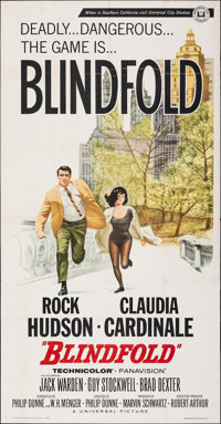 "Blindfold (Universal, 1966). Folded, Fine/Very Fine. Three Sheet (41"" X 78.75""). Thriller"