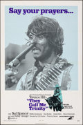 Movie Posters:Western, They Call Me Trinity & Other Lot (Avco Embassy, 1971). Fol...
