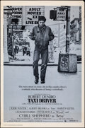 """Movie Posters:Crime, Taxi Driver (Columbia, 1976). Rolled, Fine/Very Fine. One Sheet (27"""" X 41"""") Blue Style. Crime.. ..."""