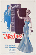 Movie Posters:Foreign, Maxime & Other Lot (Interworld, 1962). Folded, Fine/Very F...