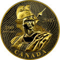 "Canada: Elizabeth II gold Proof ""The 1870 Shinplaster - Vignette of Britannia"" 300 Dollars 2005 PR70 Ultra Cam..."
