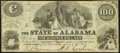 Obsoletes By State:Alabama, Montgomery, AL- State of Alabama $100 Jan. 1, 1864 Cr. 12 Very Fine.. ...