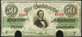 Confederate Notes:1863 Issues, T57 $50 1863 PF-1 Cr. 406 Choice About Uncirculated.. ...