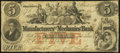 Obsoletes By State:Georgia, Columbus, GA- Manufacturers' and Mechanics' Bank $5 Mar. 1, 1856 Fine.. ...