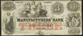 Obsoletes By State:Georgia, Macon, GA- Manufacturers' Bank $3 Jan. 3, 1862 Fine-Very Fine.. ...