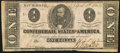 Confederate Notes:1863 Issues, T62 $1 1863 PF-1 Cr. 474 Fine-Very Fine.. ...