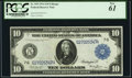 Large Size:Federal Reserve Notes, Fr. 929 $10 1914 Federal Reserve Note PCGS New 61.. ...