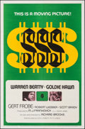 Movie Posters:Crime, $ (Dollars) & Other Lot (Columbia, 1971). Folded, Fine/Ver...