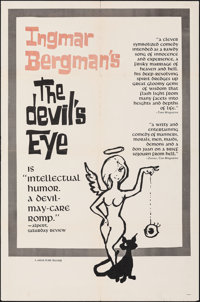 "The Devil's Eye & Other Lot (Janus Films, 1961). Folded, Very Fine-. One Sheets (4) (27"" X 41""). Foreign..."