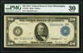 Fr. 1035 $50 1914 Federal Reserve Note PMG Very Fine 30