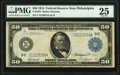 Fr. 1034 $50 1914 Federal Reserve Note PMG Very Fine 25