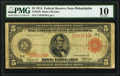 Large Size:Federal Reserve Notes, Fr. 834b $5 1914 Red Seal Federal Reserve Note PMG Very Good 10.. ...