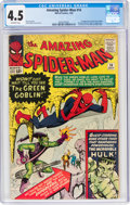 Silver Age (1956-1969):Superhero, The Amazing Spider-Man #14 (Marvel, 1964) CGC VG+ 4.5 Off-white pages....