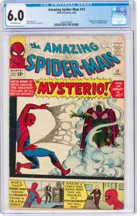The Amazing Spider-Man #13 (Marvel, 1964) CGC FN 6.0 Off-white pages