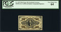 Fractional Currency:Third Issue, Fr. 1254 10¢ Third Issue PCGS Very Choice New 64.. ...
