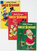 Silver Age (1956-1969):Cartoon Character, Uncle Scrooge #13-39 Group (Dell, 1956-62) Condition: Average VG.... (Total: 27 )